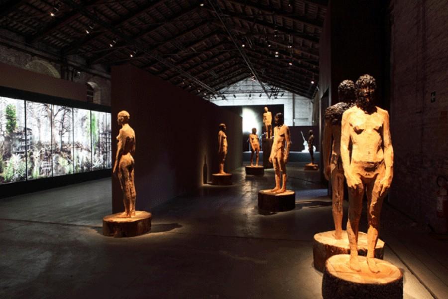 Senza Titolo, 2009, installazione, Padiglione Italia, La Biennale di Venezia, Italia