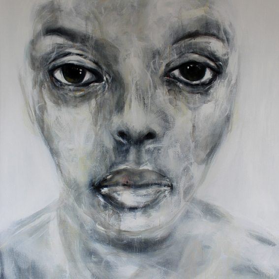 So What (apa), 2010, acrilico su tela, 150x150 cm