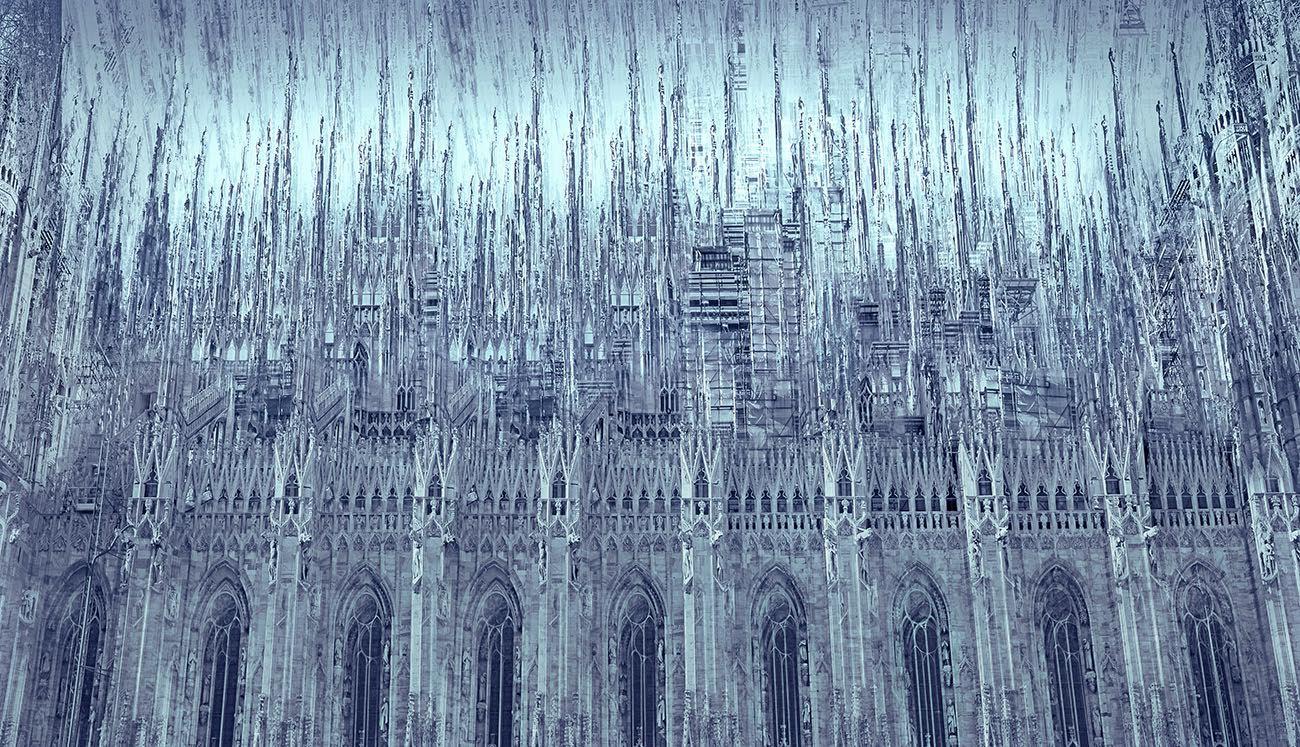 Prime Luci Sul Duomo, 2013, cromogenic print