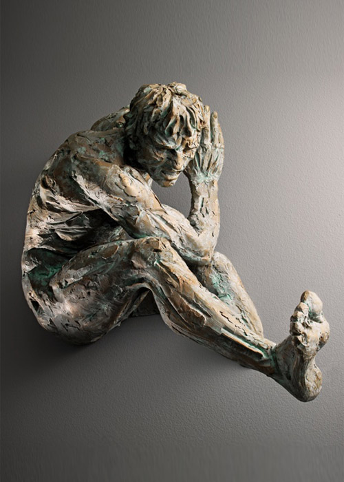 Dannato, 2012, edition 7+3, bronze, 72x45x27 cm