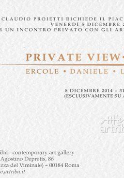 PRIVATE VIEW PIGNATELLI