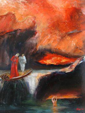 GIANNI TESTA, Divina Commedia, Canto VIII