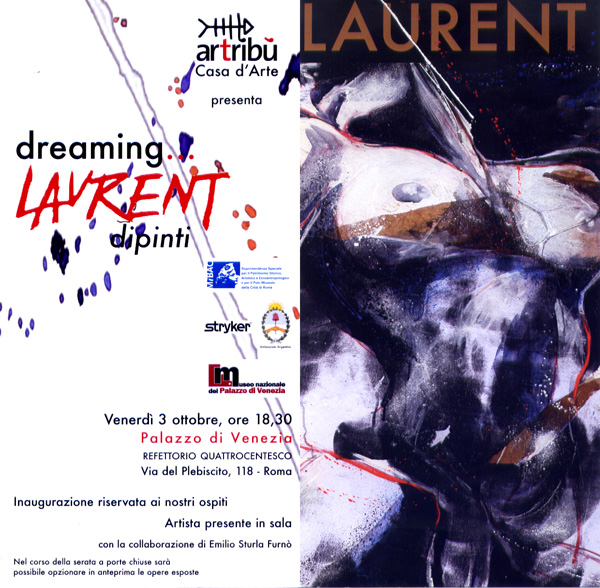 DREAMING… LAURENT