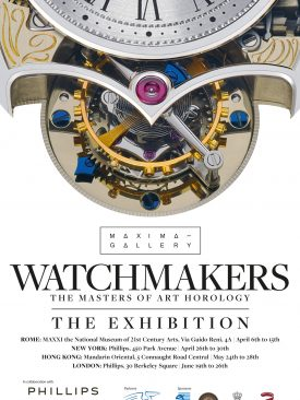 Watchmakers – The Masters of Art Horology